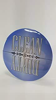 Pocono Mountain Treasures , Blue Clean / Dirty Dishwasher Magnet, Waterproof / Strong / Durable, Flip Magnet, Gloss Finish...