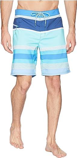 Peaks Island Stripe Boardshorts
