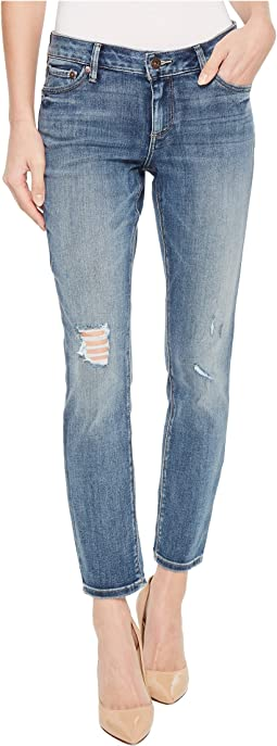 Lolita Crop Jeans in Hubbard Destruct