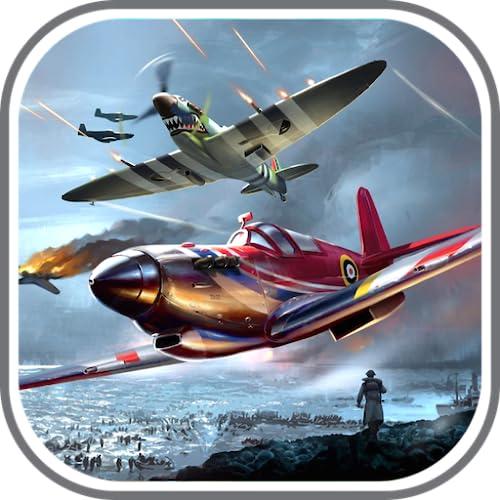 Fighter Pilot Air Strike - 1945 air force flight simulator gmaes