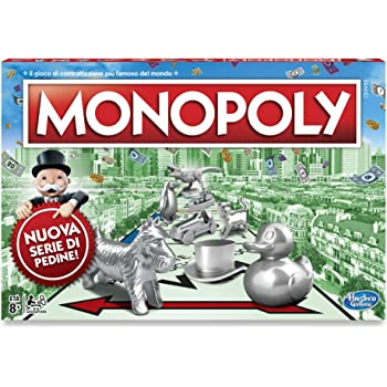 Monopoly - Classico (gioco in scatola Hasbro Gaming)