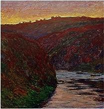 Music Poster Claude Monet - The Creuse at Sunset 1889 Print 60x60cm