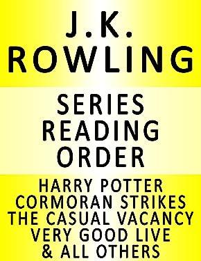 J.K. ROWLING — SERIES READING ORDER (SERIES LIST) — IN ORDER