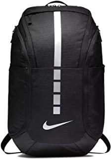 Hoops Elite Hoops Pro Basketball Backpack (Black/Metallic Cool Grey)
