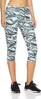 Adidas Women's D2M Regular-Rise AOP 3/4 Tight