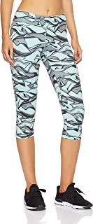 Adidas Women's D2M Regular-Rise AOP 3/4 Tight