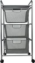 Best 3 drawer metal cart Reviews