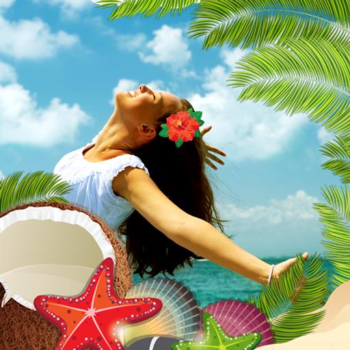 Tropic Photo Collage Editor