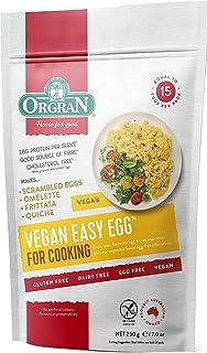 Orgran Vegan Easy Egg ( Gluten Free , Wheat Free, Egg Free, Dairy Free, Yeast Free, Vegan, Low Sat. Fat , Good Source of F...