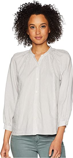 Stripe Poet Blouse