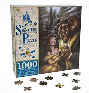 Beauty and the Beast Disney Parks Signature Belle & Beast 1000 Pc Jigsaw Puzzle