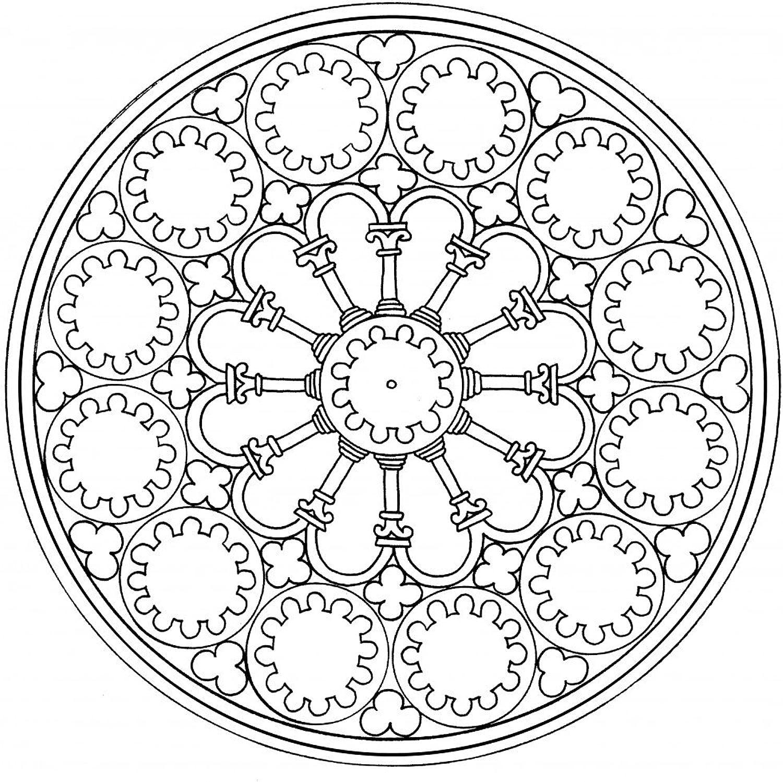 Lebensfreudeladen Mandala Leinwandmalvorlage Leinwandmalvorlage Leinwandmalvorlage 173 100 x 100 cm B00G2AEGIE   Bekannt für seine hervorragende Qualität  75dd3e