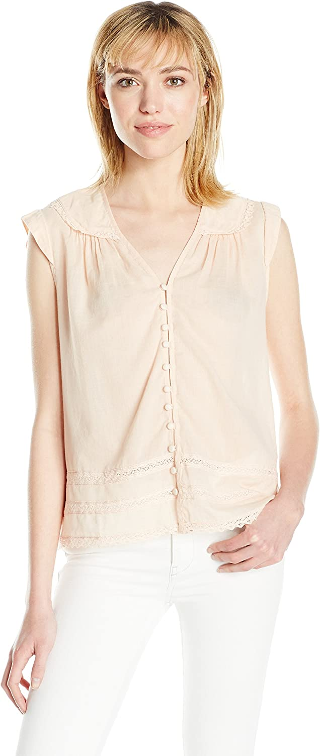 Joe's Jeans Womens Lily Blouse Blouse