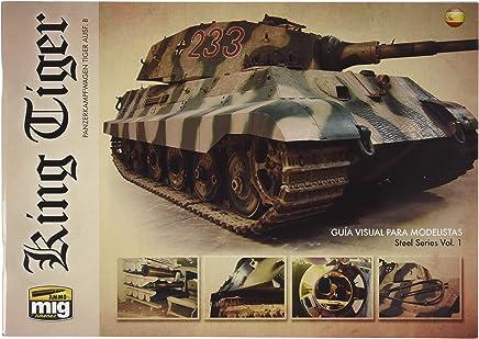 AMMO MIG-6023 King Tiger - Guia Visual para Modelistas Castellano, Multicolour