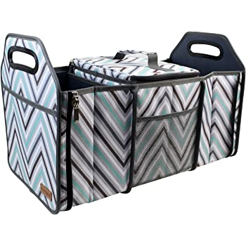 Trunk Organizer and Cooler Fully Collapsible and Portable car boot organiser
