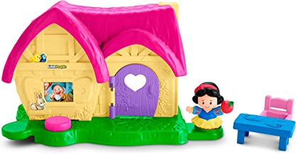 Fisher-Price Little People Disney Princess, Snow White's Kindness Cottage Playset