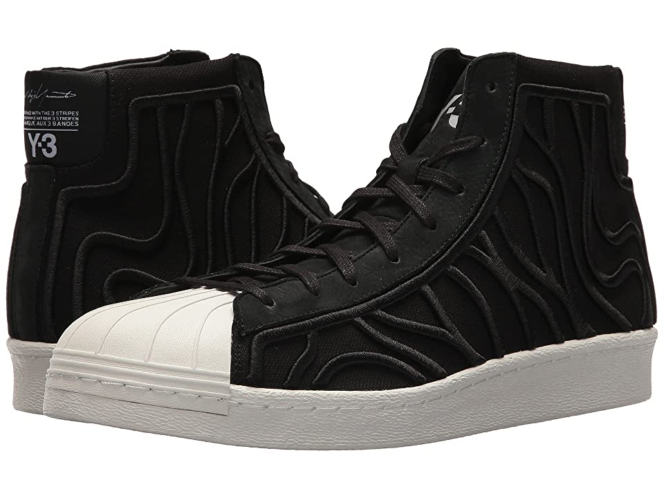 adidas Y-3 by Yohji Yamamoto Shishu Super (Core Black/Footwear White/Core White) Athletic Shoes