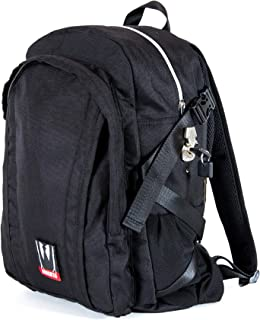 Omerta Backpack - Smell Proof Carbon Filtered Bag with Heavy Duty Lock (Transporter)