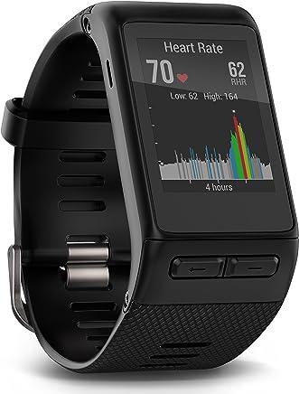 GARMIN VIVOACTIVE HR Sport GPS SMARTWATCH W/HRM Black Regular
