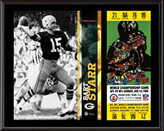 Bart Starr Green Bay Packers 12
