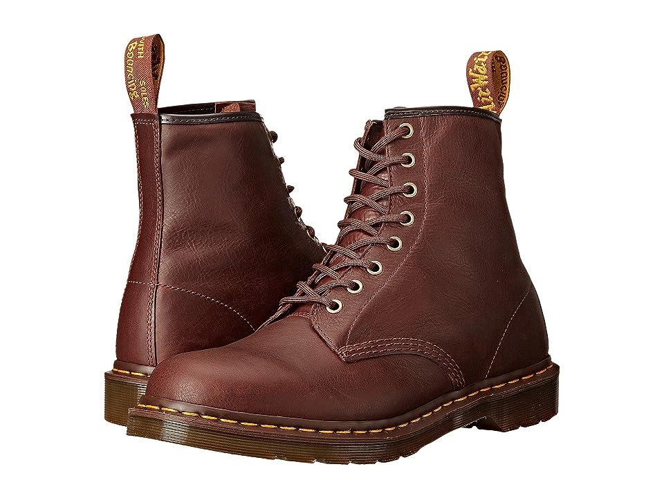 Dr. Martens 1460 8-Eye Boot Soft Leather (Tan Carpathian) Men