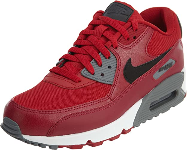 Nike - Chaussure - Air Max 90 Essential - Taille 39 - Rouge ...