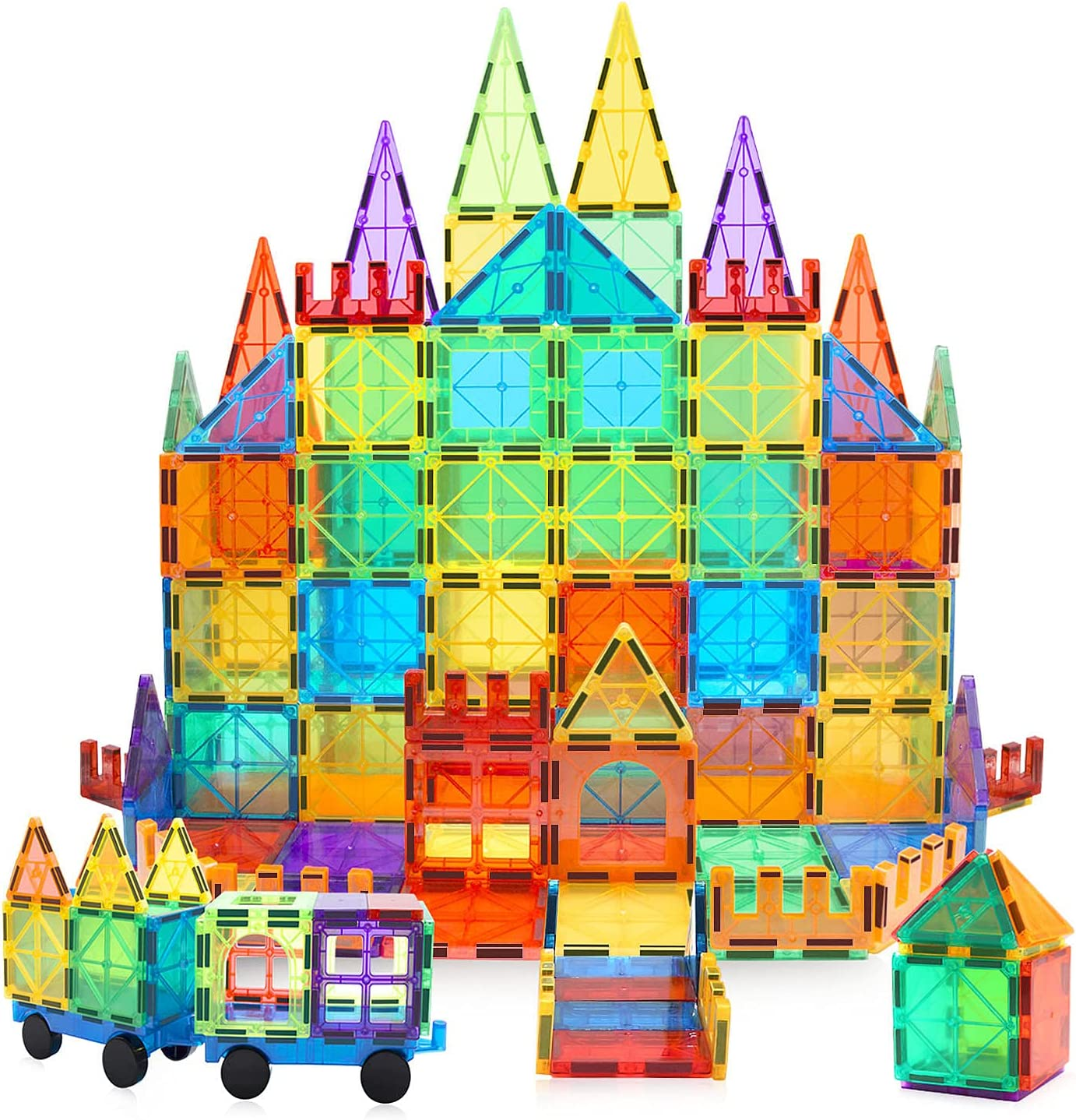 MagHub Magnet Toys Magnetic Tiles 85 Bloc Beauty products Max 50% OFF Building PCS