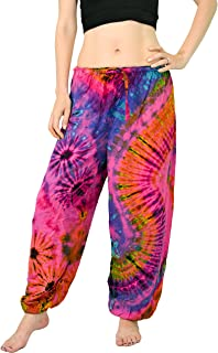Orient Trail Women's Yoga Pajama Tie-Dye Hippie Pants Size US 4-12