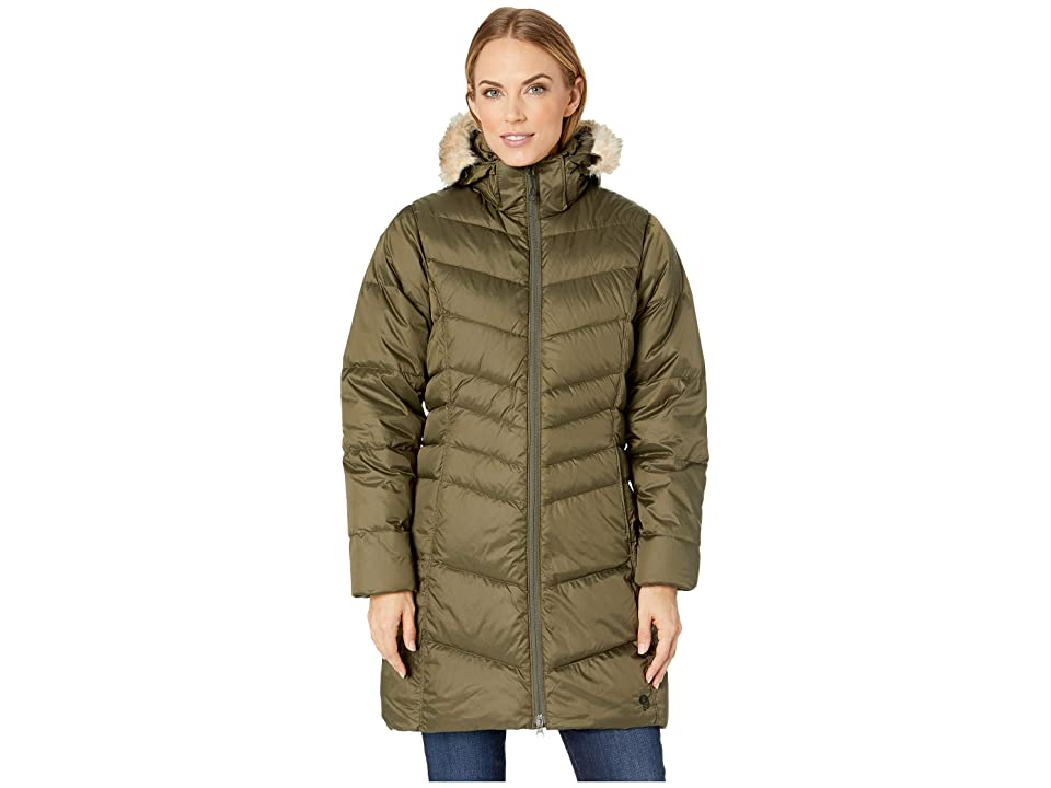 Mountain Hardwear Downtowntm Coat (Peatmoss) Women