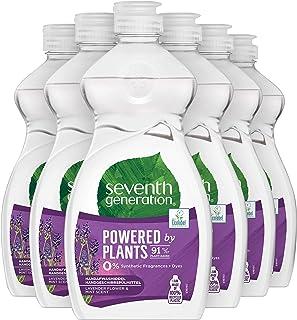 Seventh Generation Afwasmiddel Lavendel & Mint - 6 x 500ml