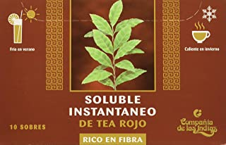 Indias Te Rojo Puerh Fibra Soluble 10 Sobres Solubles - 200