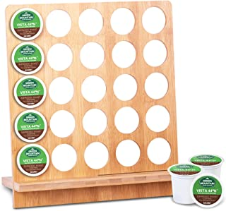 Bamboo coffee holder simple stand
