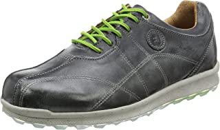 grey spikeless golf shoes