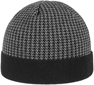 Matteo Beanie Hat with Cuff Men - Made in Italy
