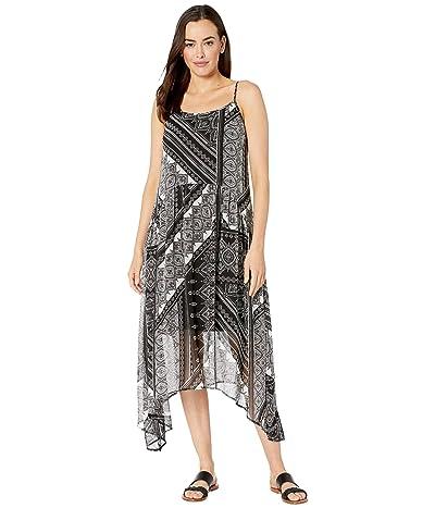 Karen Kane Shirred Cami Dress (Print) Women