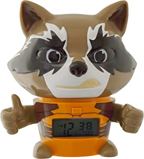 Bulb Botz 2021357 Guardians of The Galaxy Vol. 2 Rocket Alarm Clock