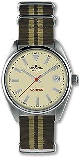 Mondia Campus Mens Analog Quartz Watch with Nylon Bracelet MI728-2CT