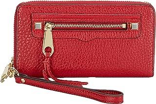 Rebecca Minkoff Regan iPhone X/8/7 Leather Wristlet Wallet, Deep Red
