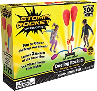Stomp Rocket Dueling Rockets 4 And Launcher