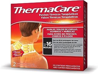comprar comparacion THERMACARE Parche Térmico Terapéutico - 2 parches - Para El Dolor de Cuello, Hombro y Muñeca - Alivio Prolongado del Dolor...