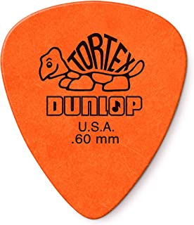 Dunlop Tortex Standard .50mm Red Guitar Pick - 12 Pack 12 Pack .60mm .60mm | Orange