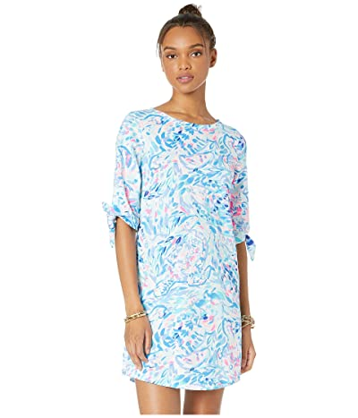 Lilly Pulitzer Preston Dress (Breakwater Tint Party Wave) Women