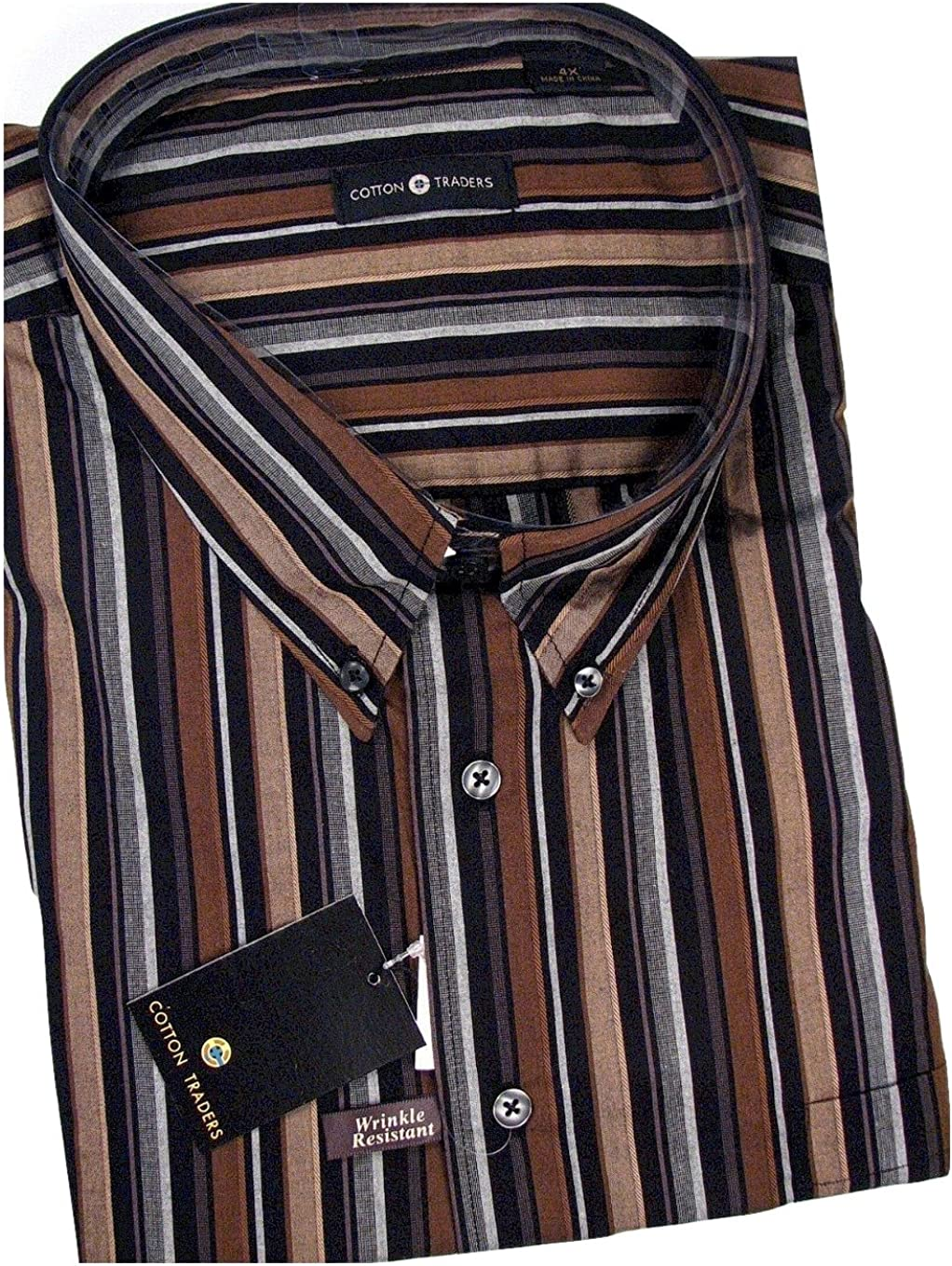Cotton Traders Wrinkle Free Shirt Big and Tall Sizes