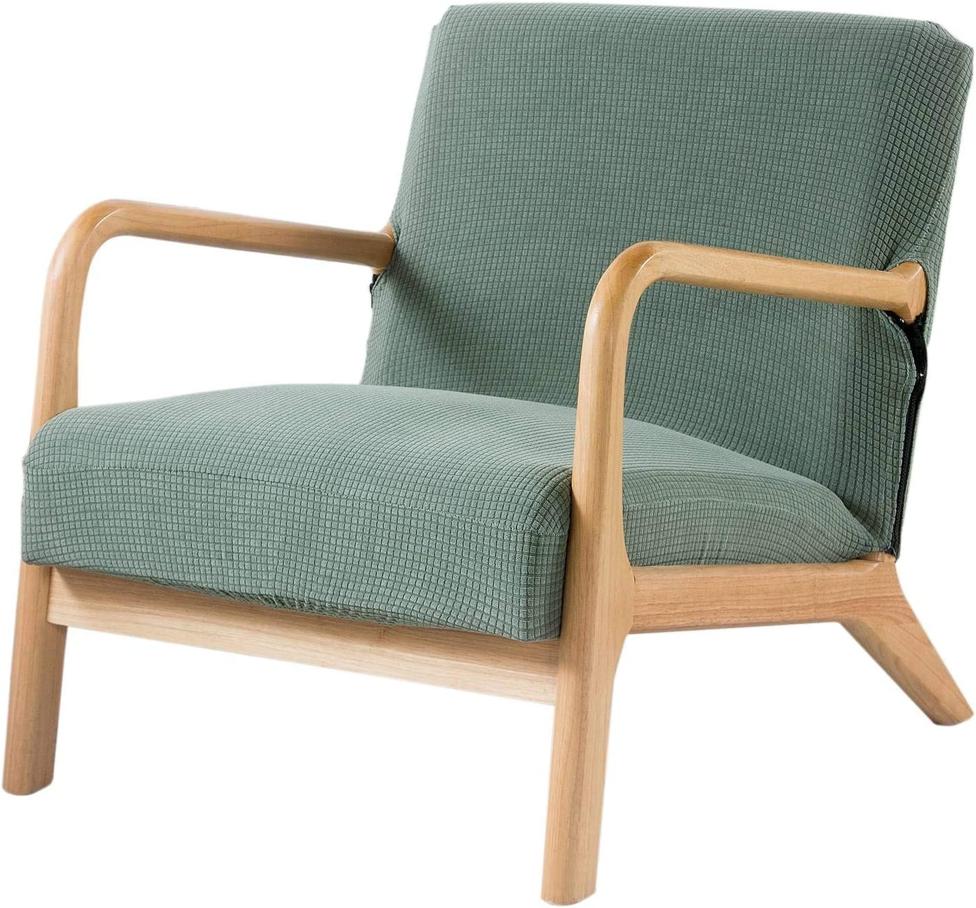 Surrui Mid Century Accent Chair Chairs Cove Wooden Arm Excellent Slipcover Award
