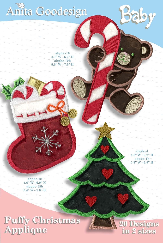 Puffy Christmas Applique