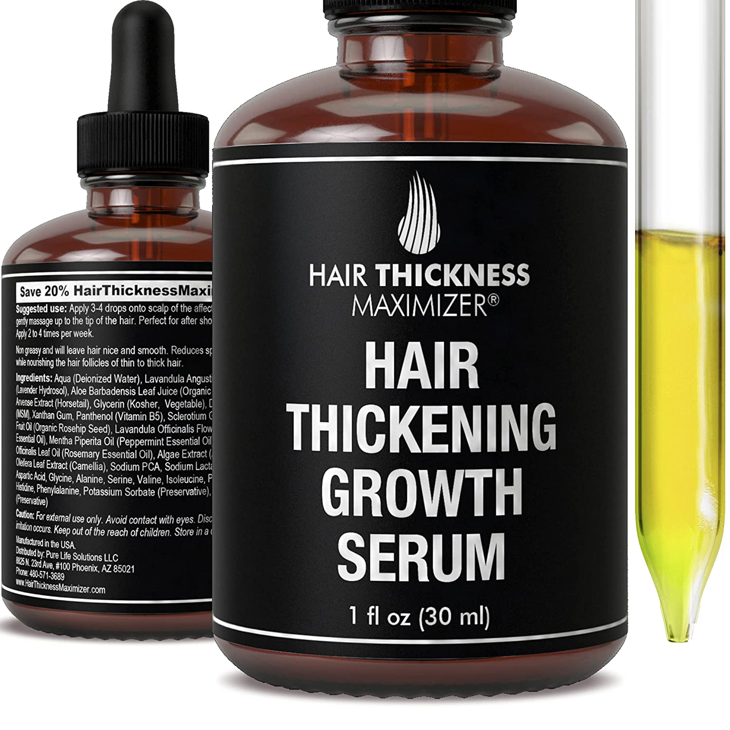 Hair Growth Serum - Arlington Mall Loss Treatment by Thick Prevention Max 50% OFF
