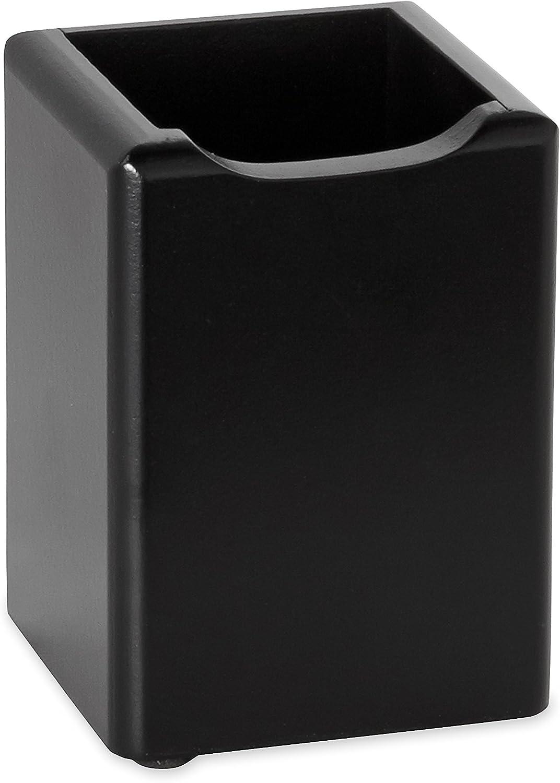 Rolodex Stiftebecher Holz-Farbtöne 8,9 x 8,9 x 11,4 cm (B x T x H) schwarz (ROL62524) B001A428YG   Hohe Qualität Und Geringen Overhead