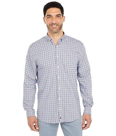johnnie-O Redmond PREP-FORMANCE Button Down Shirt (Cranberry) Men