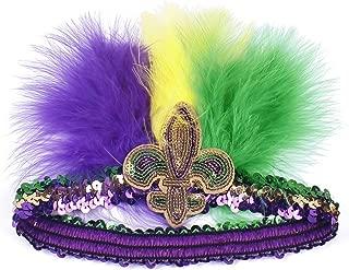 Fascinator Hats for Women Tea Party Wedding Headband Feather Cocktail Headwear Hair Clip