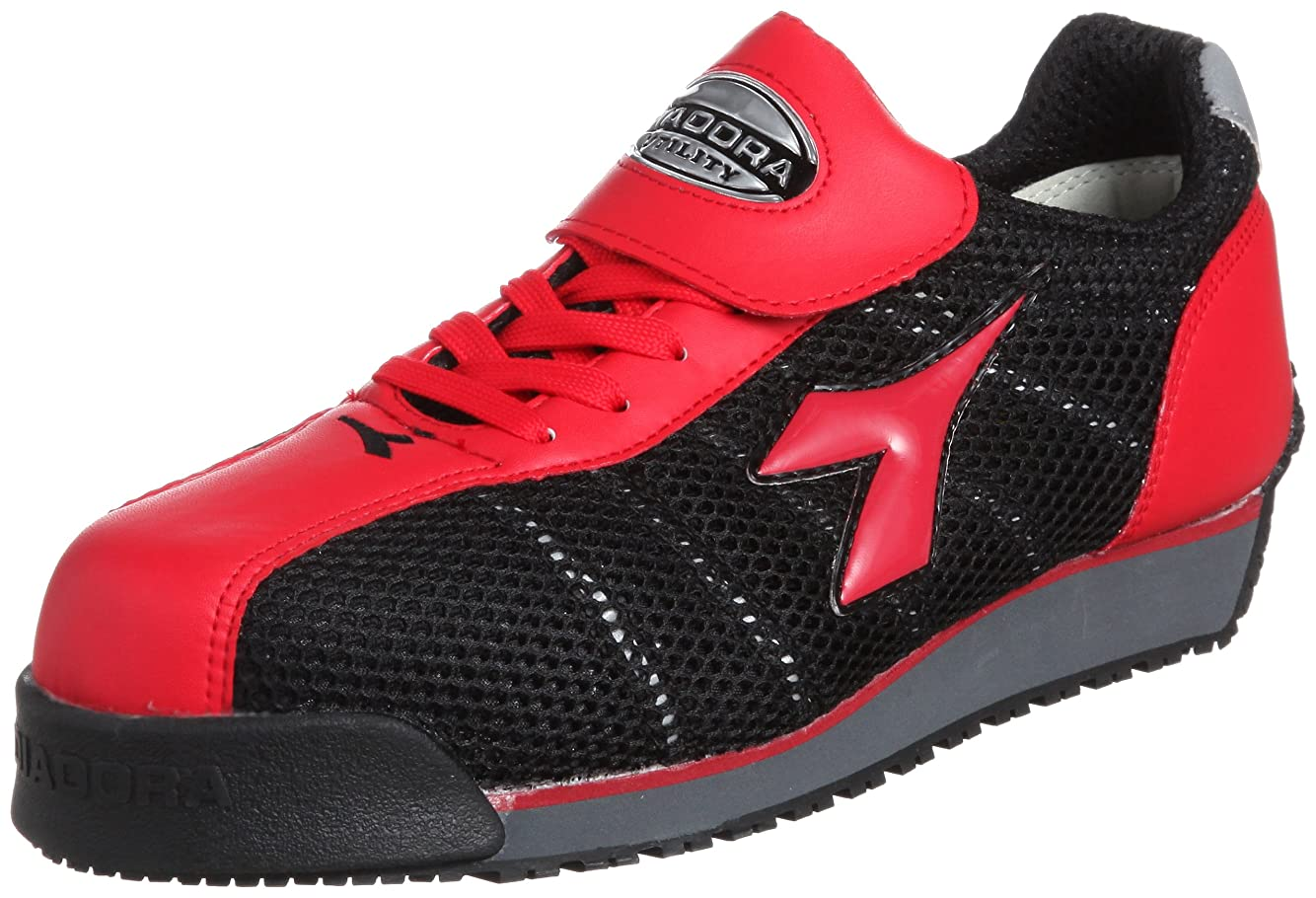 パウダーせっかちハーネス作業靴 スニーカー KF32 KF32 レッド&ブラック(レッド&ブラック/28.0)